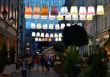 Kültéri világítás a romantikus nyári estékhez